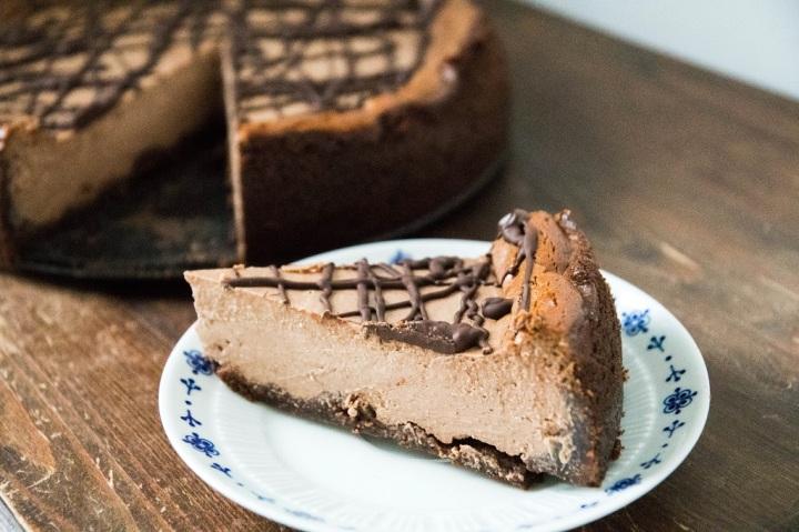 chocolate cheesecake_9